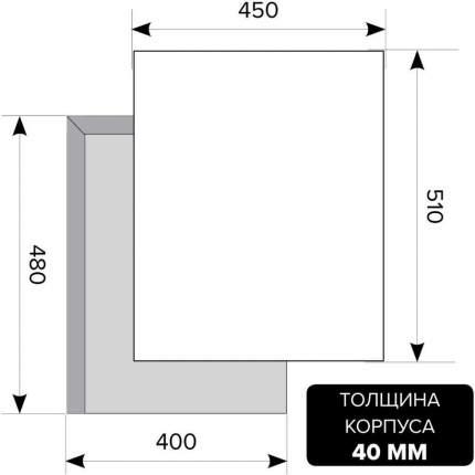 Встраиваемая газовая панель Lex GVG 4533C Ivory Light