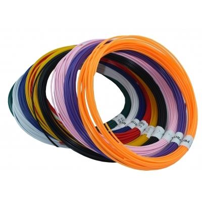 Набор пластика TMPROF3D ABS для 3D ручек, 9 цветов по 10 м
