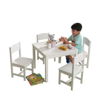 Комплекты мебели KidKraft Кантри: стол, 4 стула
