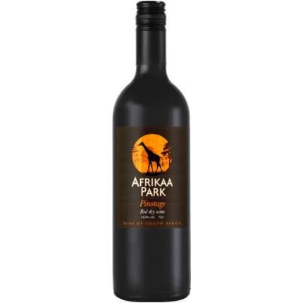 Вино Африкаа Парк Пинотаж кр.сух.0,75