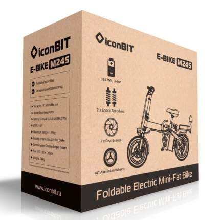 Электровелосипед iconBIT XLR3035