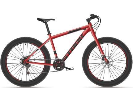 """Велосипед Stark Fat 26.2 HD 2021 16"""" красный/черный"""