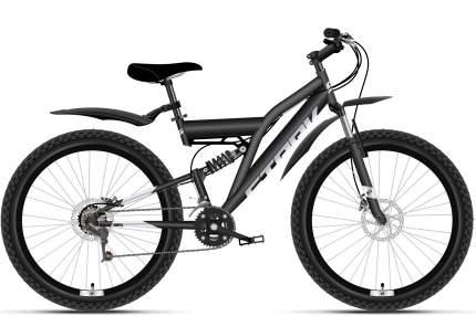 """Велосипед Stark Jumper 27.1 FS D 2021 16"""" черный/серебристый"""