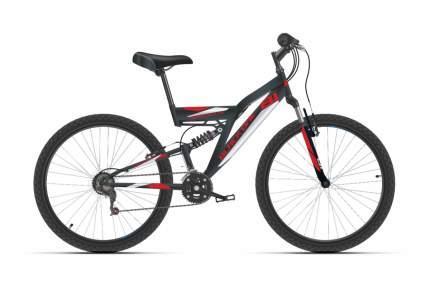 """Велосипед Black One Phantom FS 27 2021 18"""" черный/красный/белый"""