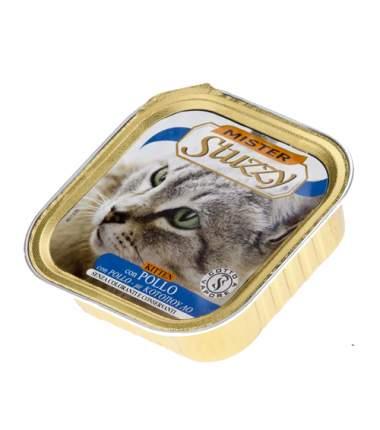 Влажный корм для кошек Stuzzy Mister , курица, 32шт, 100г