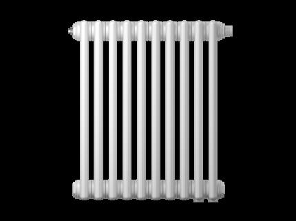 Радиатор трубчатый Zehnder Charleston Retrofit 3057, 8 сек.1/2 ниж.подк. RAL9016 +кроншт