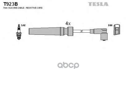 Провода Зажигания (комплект) TESLA T923B