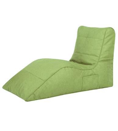 Бескаркасный модульный диван Папа Пуф Cinema Sofa one size, рогожка, Lime (зеленый)