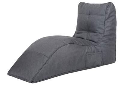 Бескаркасный модульный диван Папа Пуф Cinema Sofa one size, рогожка, Grafite (темно-серый)