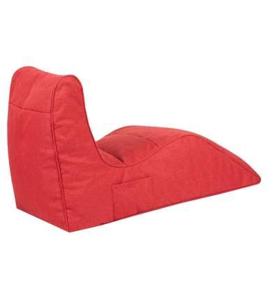 Кресло бескаркасное Папа Пуф Cinema Sofa Red, размер XXL, рогожка, красный