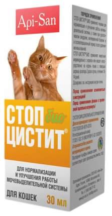 Стоп-Цистит Био Суспензия для кошек Api-San, 30 мл