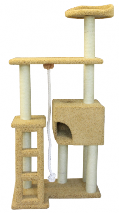 Комплекс для кошек Пушок Сиричка 82x62x185см