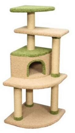 Комплекс для кошек Пушок Агути 61х61х144см