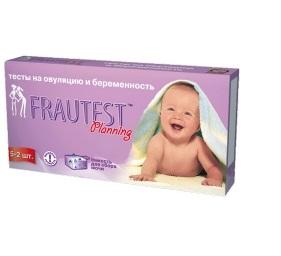 Тест Frautest Planning тест-полоска на овуляцию 5 шт. и беременность 2 шт.