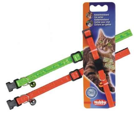 Ошейник для кошек Nobby Неон полиэстер, в ассортименте, 20-30 см