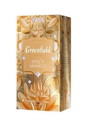 Чай зеленый Greenfield Spicy Mango 25 пакетиков