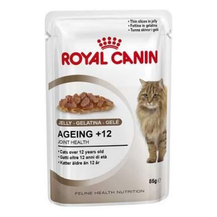 Влажный корм для кошек ROYAL CANIN Wet Ageing+12, домашняя птица, 85г