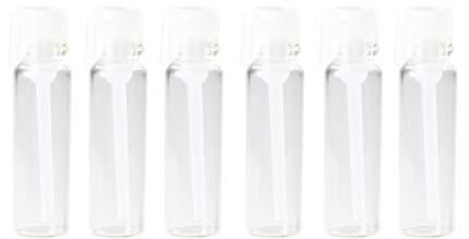 Пробники (фиолки) Aromaprovokator для духов 1 ml крышка белая набор 100 штук