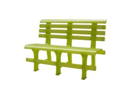 Садовая скамейка Стандарт Пластик СТПЛГР.ДЗ000144862.0000000003 Групп №2 Зеленый