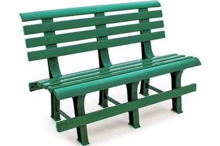 Садовая скамейка Стандарт Пластик СТПЛГР.ДЗ000144862.0000000001 Групп №2 Темно-зеленый