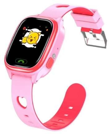 Детские умные смарт-часы Smart Baby Watch Y85 2G, с поддержкой GPS, SIM card (розовый)