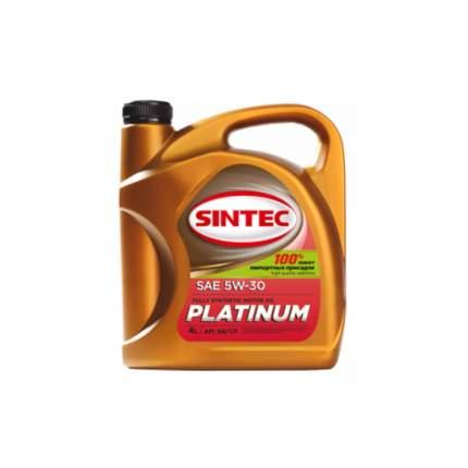 Моторное масло Sintec Platinum 5W-30 4л
