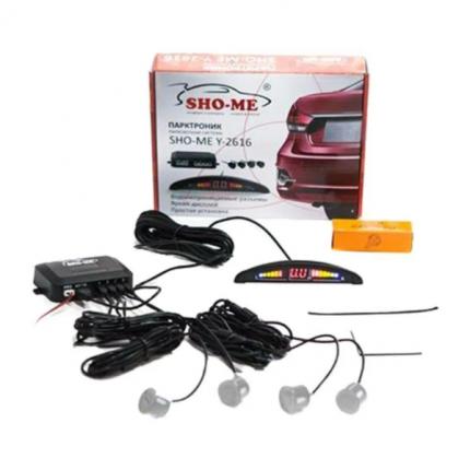 Комплект парктроников Sho-Me Y-2616 N04 Silver 4 Датчика Sho-Me Y-2616 N04 s