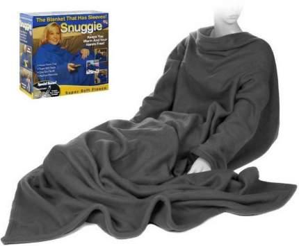 Одеяло-плед с рукавами Snuggie (Снагги) (Цвет: Черный  )