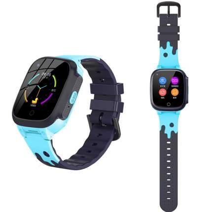 Смарт-часы Smart Baby Watch LT25 4G с поддержкой Wi-Fi и GPS, HD камера, SIM card Blue
