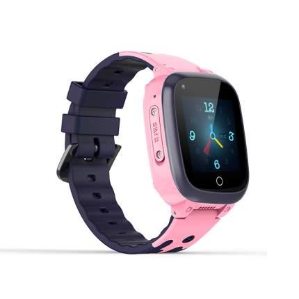 Смарт-часы Smart Baby Watch LT25 4G с поддержкой Wi-Fi и GPS, HD камера, SIM card Pink