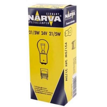 Лампа 24v P21/5w 21/5w Narva Standard 1 Шт. Картон 17925 Narva арт. 17925