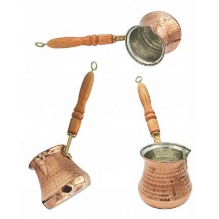 Турка для кофе медная ручной работы, на 3-5 чашек MARMA MM-TRK-11