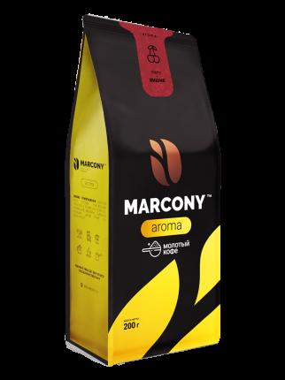 Кофе молотый MARCONY AROMA со вкусом вишни 200г