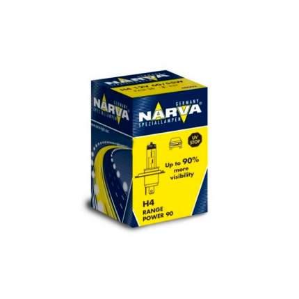 Лампа Галогенная H4 12v Rph 90% 60/55w P43t-38 Narva 48003