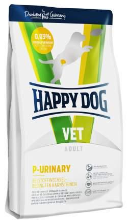 Сухой корм для собак Happy Dog Vet P-Urinary при мочекаменной болезни, картофель, яйцо 4кг