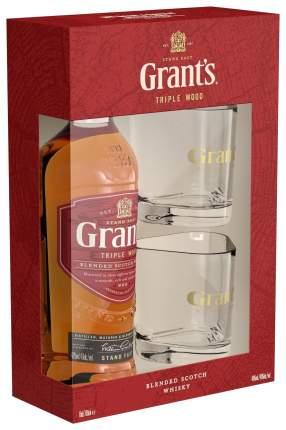 Виски Грантс Трипл Вуд 3г+2ст.40%0,7л
