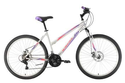 """Велосипед Black One Alta 26 D 2021 14.5"""" белый/салатовый/серый"""