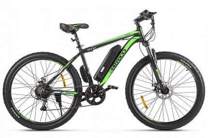 """Электровелосипед Eltreco XT 600 D 2021 19"""" черно-зеленый"""
