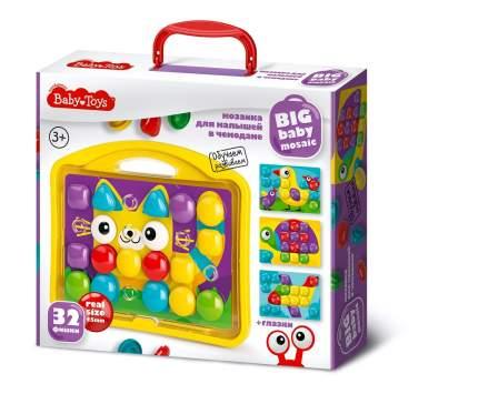 Мозаика для малышей в чемодане Baby Toys. Котик Десятое королевство