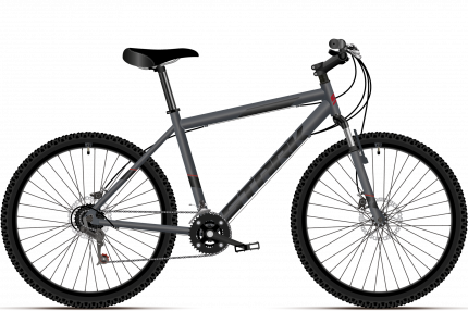 """Велосипед Stark Respect 26.1 D MS 2021 20"""" черный"""