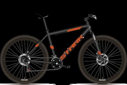 """Велосипед Stark Outpost 26.1 D 2021 20"""" черный/оранжевый"""