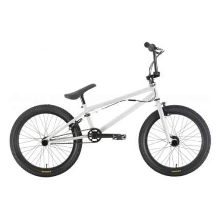 Велосипед Stark Madness BMX 3 2021 One Size серый/белый