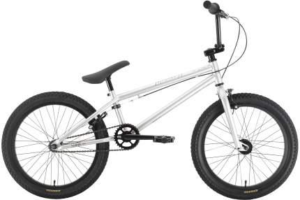 Велосипед Stark Madness BMX 1 2021 One Size серебристый/серебристый