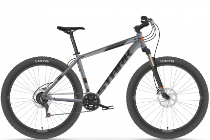 "Велосипед Stark Funriser 29.4+ HD 2021 18"" серый/оранжевый"