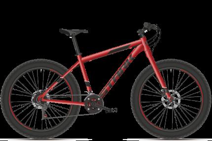 """Велосипед Stark Fat 26.2 HD 2021 20"""" красный/белый"""