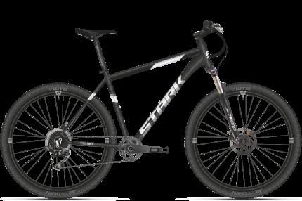 """Велосипед Stark Armer 27.6 HD 2021 18"""" черный/серебристый"""
