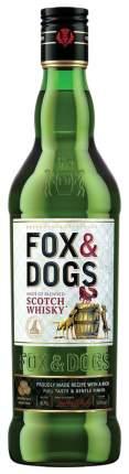 Виски Фокс энд Догс 40% 0,5