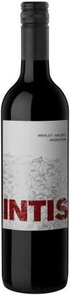Вино Интис Мерло-Мальбек сух кр  0,75
