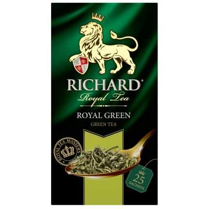 Чай зеленый Richard royal green 25 пакетиков