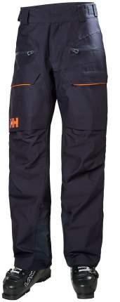 Спортивные брюки Helly Hansen Ridge Shell Pant, black, XL